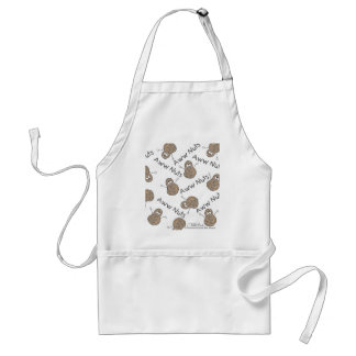 Aww Nuts Collage Adult Apron
