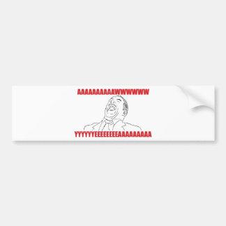 Aww Yea Bumper Sticker