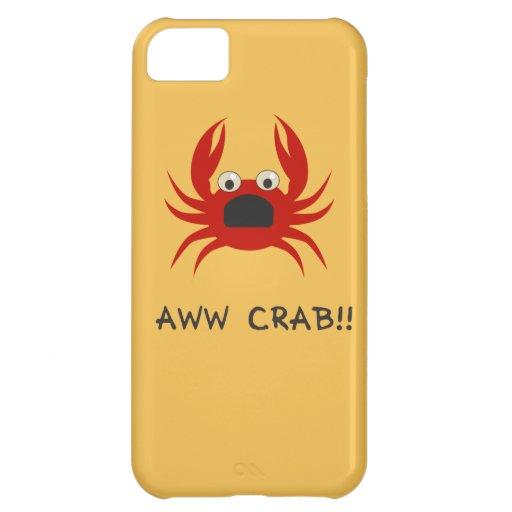 AWww CRAB!! iPhone 5C Cases