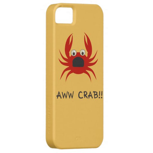 AWww CRAB!! iPhone 5 Covers