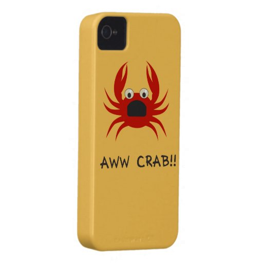 AWww CRAB!! phone iPhone 4 Covers