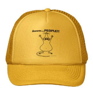 Awww...PEOPLE!!! Rat Hat