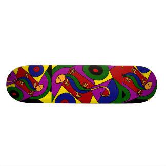 AX- Awesome Skink Lizard Art Design Skateboard
