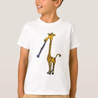 AX- Giraffe Playing the Clarinet T-Shirt