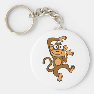 AX- Happy Dancing Monkey Keychain