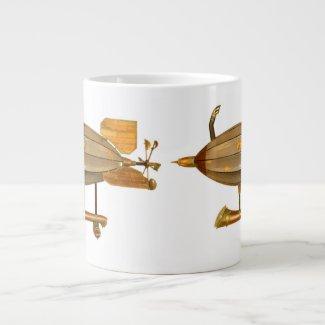 Axantha Steampunk Airship Coffee Mug