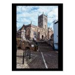 Axbridge Church Postcard
