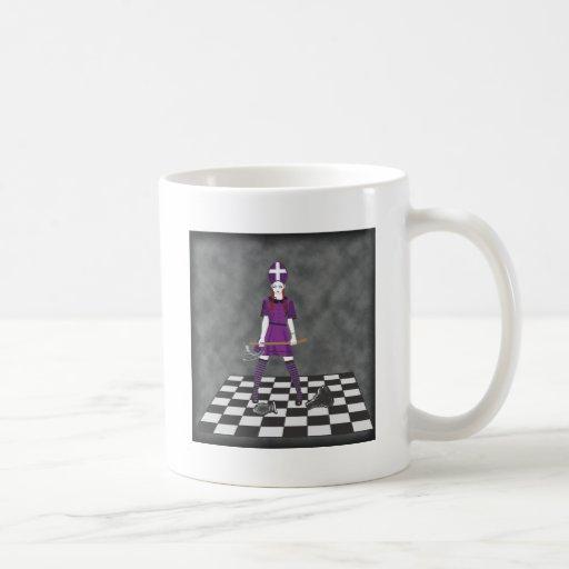 Axe Girl Coffee Mugs