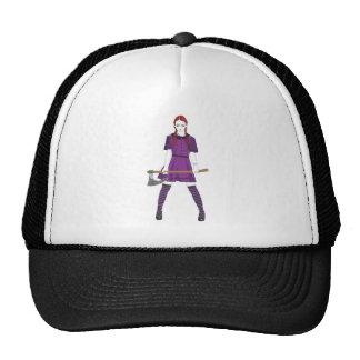 Axe Girl Trucker Hat