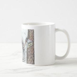 Axe Man no stihl chainsaw Coffee Mug