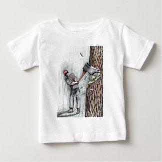Axe Man no stihl chainsaw Tee Shirt