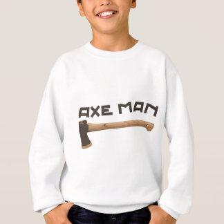 Axe Man, Outdoors Woodsman Sweatshirt