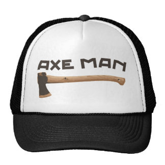 Axe Man, Outdoors Woodsman Trucker Hat
