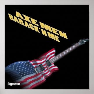 Axe Men Barack'n Me Poster