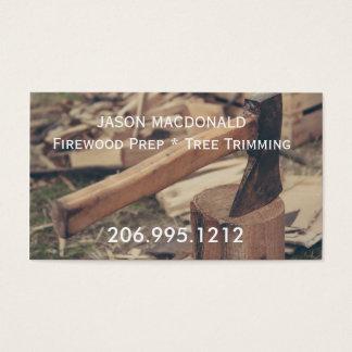 Axe & Wood Business Card