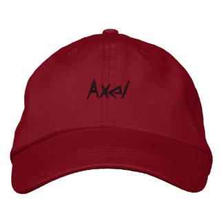 Axel cap regulable