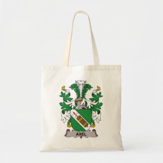 Axel Family Crest Tote Bags