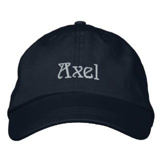 AXEL Name Designer Cap