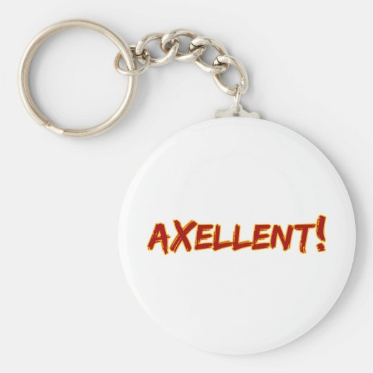 Axellent! Keychain