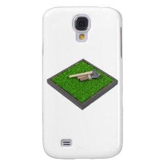 AxeLogsOnLawn112611 Samsung Galaxy S4 Case