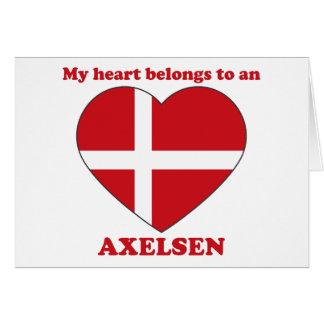 Axelsen Greeting Card