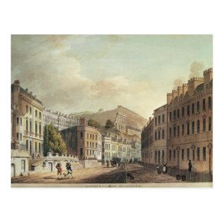 Axford y edificios del modelo del 'baño tarjetas postales
