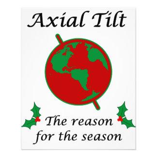 Axial Tilt Reason for the Season Flyer