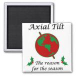 Axial Tilt Reason for the Season Refrigerator Magnet
