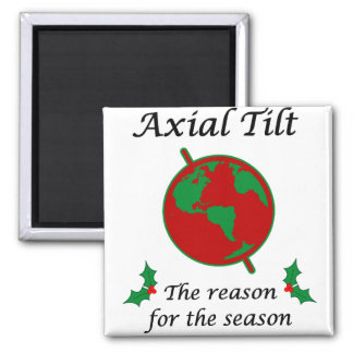 Axial Tilt Reason for the Season Magnet