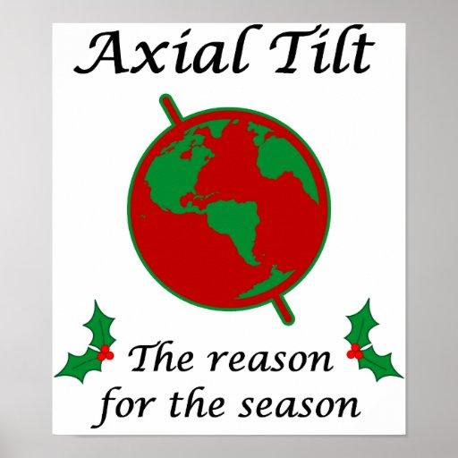 Axial Tilt Reason for the Season Poster