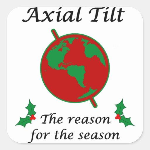 Axial Tilt Reason for the Season Sticker