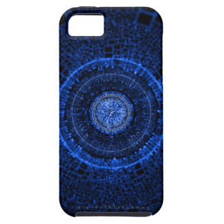 Axiomático (azul) iPhone 5 carcasas