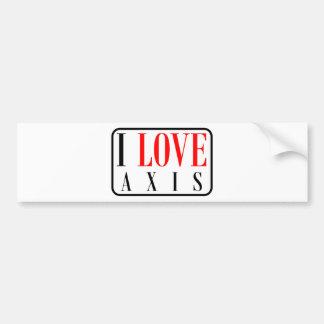 Axis, Alabama City Design Car Bumper Sticker
