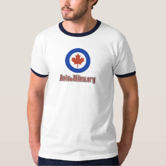 Axis & Allies .org Canada Roundel T-Shirt