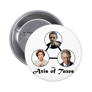 AXIS del botón de los impuestos Pins