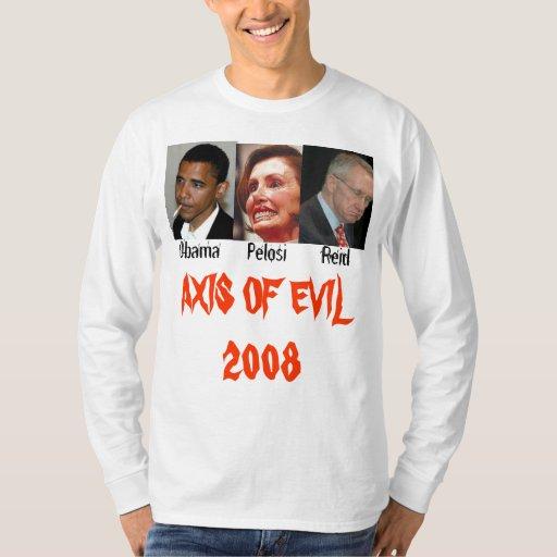 AXIS del mal 2008 Camisas