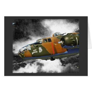 Axis Nitemare B-25 Card