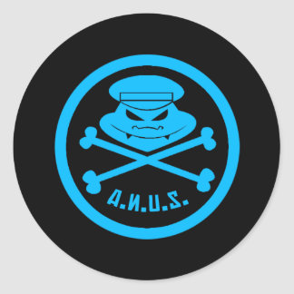 Axis of Nefarious Underworld Schemes Sticker