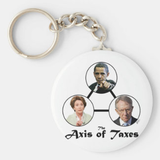 Axis of Taxes Keychain