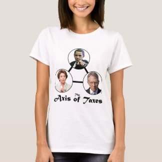 Axis of Taxes Ladies T-shirt