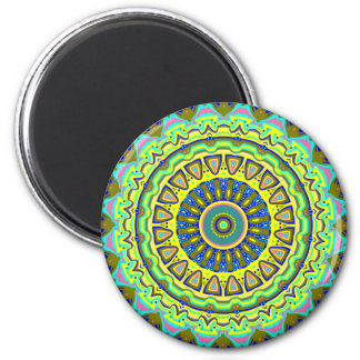 Axis Pop Art Mandala Magnet