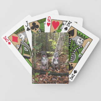 Axle Epic forest cards Bicycle Playing Cards