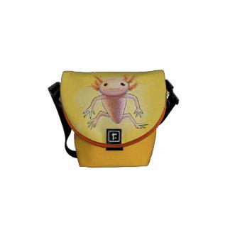 axolotl bag courier bag