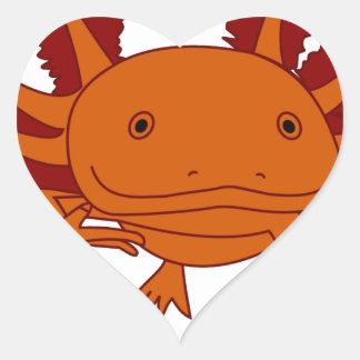 Axolotl cookie sticker