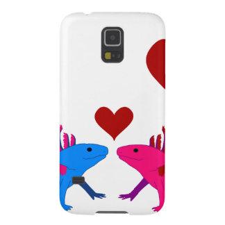 Axolotl en Love Funda Para Galaxy S5