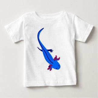 Axolotl from above blue baby T-Shirt