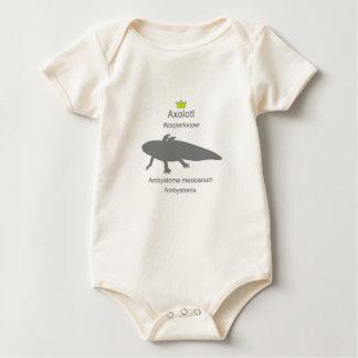 Axolotl g5 baby bodysuit