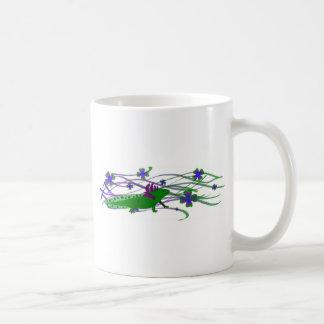 Axolotl green in the luck coffee mug