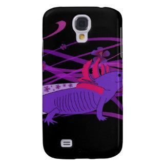 Axolotl Hiebiskus Funda Samsung S4
