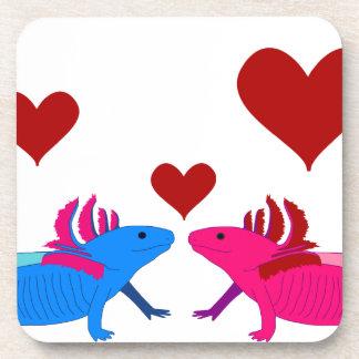 Axolotl in Love Coaster